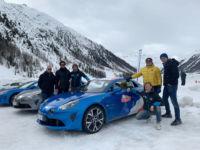Winter Drive Experience Alpine A110