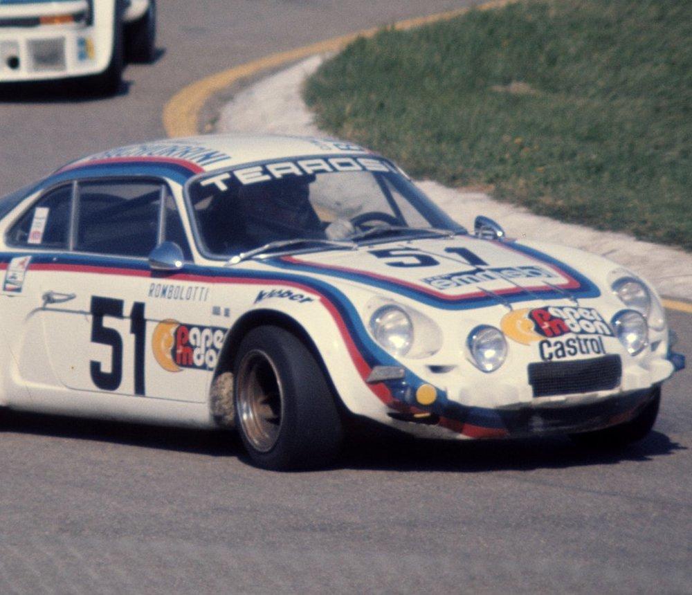 Sergio Rombolotti - alpine a110